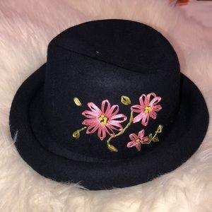 Wool Hat Dark Navy Blue
